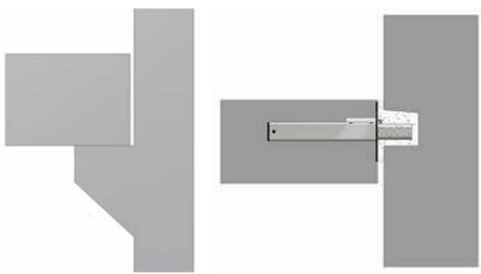 Invisible Connections (With & Without Corbels)