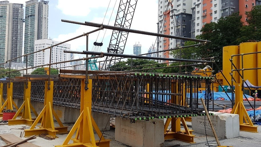 MRT Line 1 Railway Construction