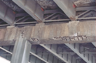 Consequences of without proper concrete spacer