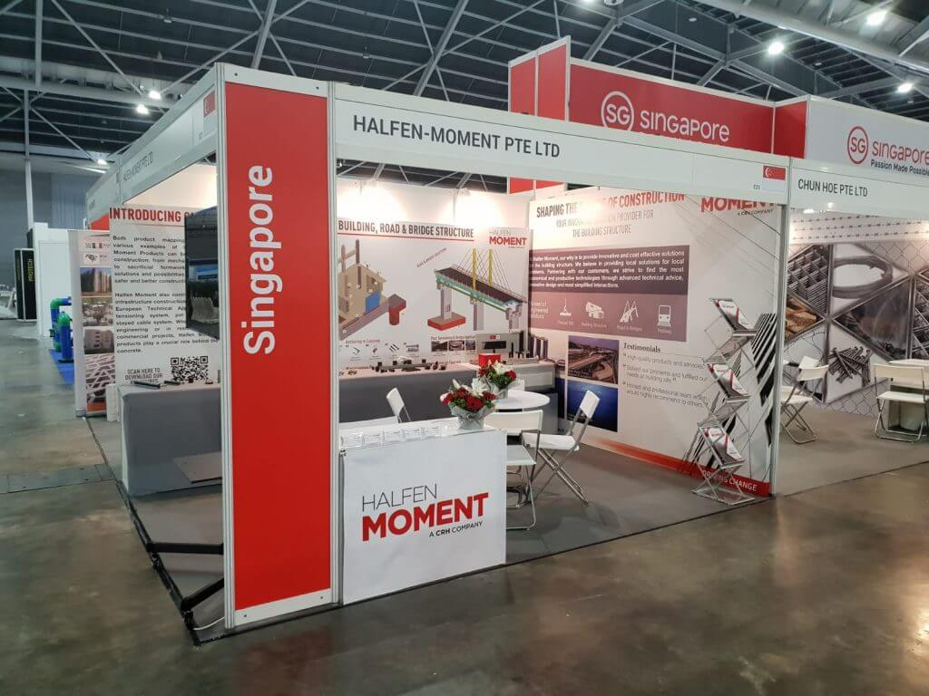 Halfen Moment Booth
