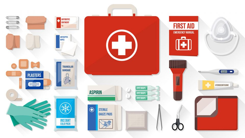 Keep an Updated First Aid Kit